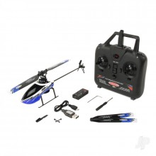 Twister Ninja 250 Blue Ready to Fly Helicopter