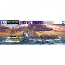 1/700th WATERLINE KIT AIRCRAFT CARRIER HMS VICTORIOUS