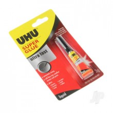 UHU Super Glue Ultra Fast Liquid 3g