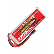 2700mAh 11.1V 3S 50C Ultrasport LiPo Battery