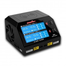 UP6 - Multi Chemistry 400W 240v AC/ DC 12v twin output charger discharger and wireless