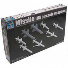 Plastic Kit Trumpeter 1:32 scale US Missiles (US Aircraft Systems) 03306