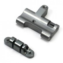 VENOM GPV-1 ALLOY LOWER CROSS MEMBER SET