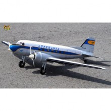 VQ Douglas DC-3 (Lufthansa) 70.8 Inch Wingspan (EP/GP) ARF FOR PRE ORDER ONLY
