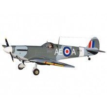 VQ Supermarine Spitfire ARF - NEW MODEL - SLIGHT DAMAGE TO TAIL - REPAIRED AS PER PICTURES
