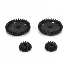 Touring Car Front & Rear Diff Ring/Pinion 32T/12T
