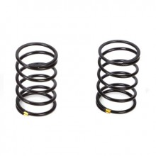 Touring Car Shock Spring Soft Yellow (2)