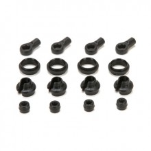 Ascender Shock End Cup/Rubber Stop & Mid Collar (4)