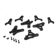 Touring Car Front & Rear Upper & Lower Suspension Arm Set