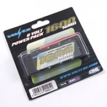 VOLTZ 1600mah 6.0V RECEIVER PACK STRAIGHT (JR PLUG)