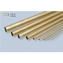 Brass Tube - 1/16 x 36 Inch/1.59x914mm