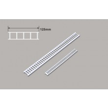 Plastruct Styrene HO Scale 1/100 Stair x 125mm