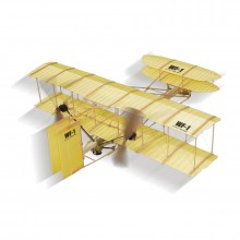WF-1 Wright Brothers Rubber Band Powered Plane