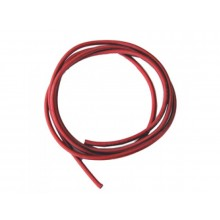 1.5mm Soft Silicone wire 1m Red 16AWG - SKU 1211