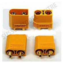 XT90 Precision profile connector 90 AP 10 pairs With wire covers
