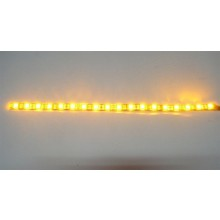"YELLOW LED STRIP Aprox 24"" Long"