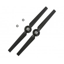 Rotor Blade A, Clockwise (2pcs): Black
