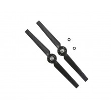 Rotor Blade B, Anti-Clock (2pcs): Black