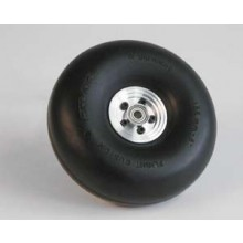 Scale Tread Wheel 125 mm Aluminium hub and fitted with ball race