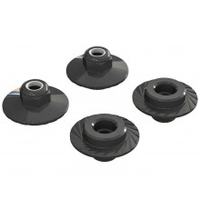 Flanged Lock Nut 5x8mm (4)