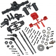 AR44 Locked Axle Set Front/Rear Complete
