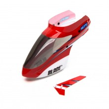 Complete Red Canopy w/Vertical Fin: for Blade mCP S