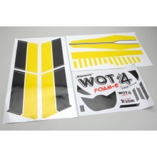 Decal Set Yellow - WOT4 Foam-E