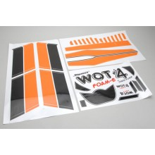 Decal Set Orange - WOT4 Foam-E