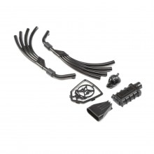 Motor Exhaust & Grill Parts Black: 1.9 Doomsday