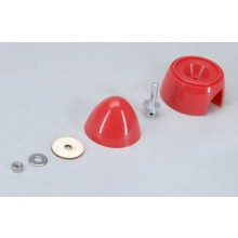 "Mustang 54 mm 2 /4 "" Red Spinner and adpter"