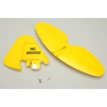 Fin and Rudder Set - J3 Cub