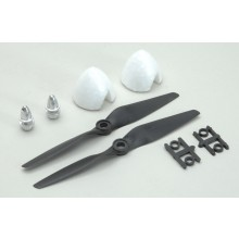 Propeller and Spinner Set(Pk2)Dfly