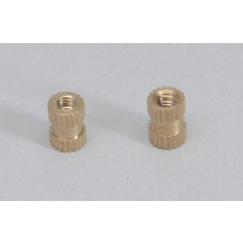 Knurled Brass Fixing Knob (Pk2)