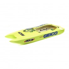 Hull with decals: Miss GEICO Zelos 36-inch Twin