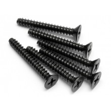 TP. FLAT HEAD SCREW M4X30MM (6PCS)